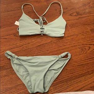 Green Bikini Set